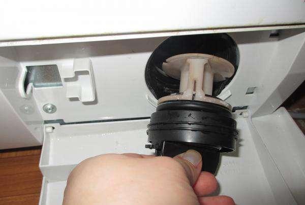 замена фильтра в стиральной машине Bosch