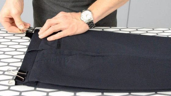 Глажка брюк
