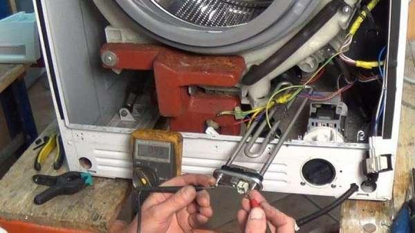 Проверка ТЭНа стиральной машины Самсунг