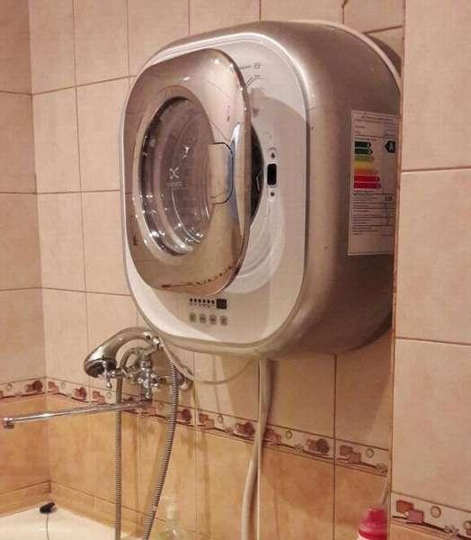 Настенная стиральная машина daewoo dwd cv701pc