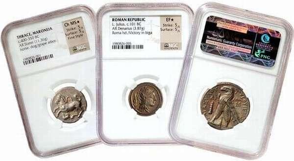 Хранение монет в кляссерах, капсулах, холдерах и конвертах