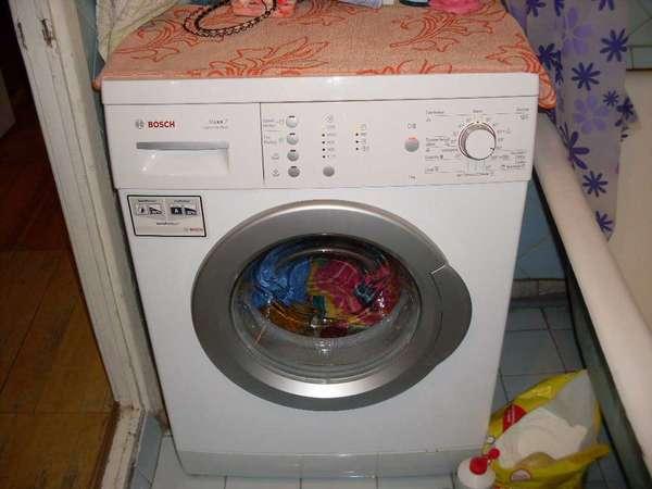 Эксплуатация стиральной машины Bosch