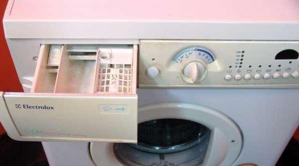 стиральная машина Electrolux без дисплея