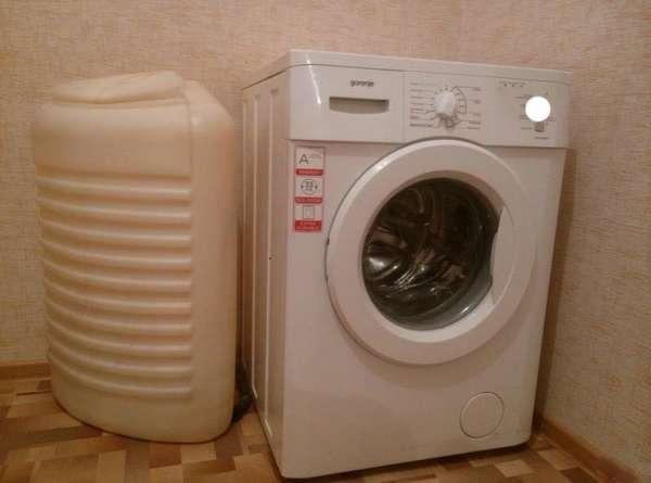 Стиральная машина автомат с баком для воды