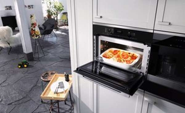 Мини духовка с функцией микроволновки