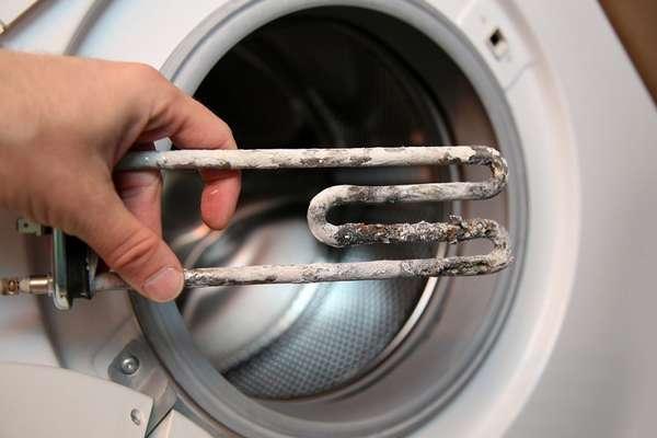 Поломка ТЭНа стиральной машины