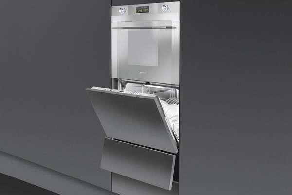 Обзор встраиваемых компактных посудомоечных машин