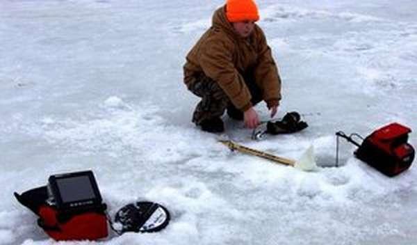 Рыбалка эхолот или видеокамера