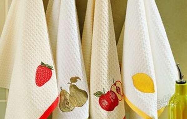 Способы отбеливания полотенец