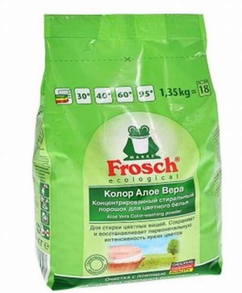 Стиральный порошок для дома Frosch Color