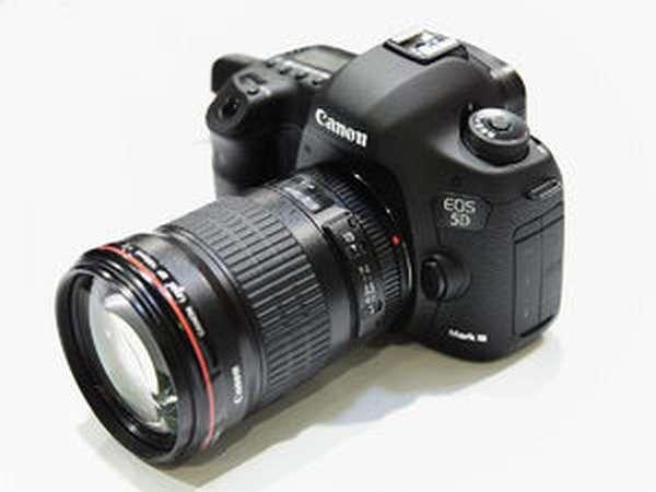 Canon EOS 5D Mark III - оборудование для видеоблогера