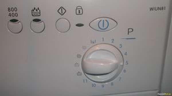 Параметры стиральной машинки индезит