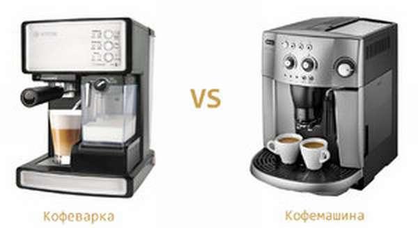 Принцип работы кофемашины и кофеварки