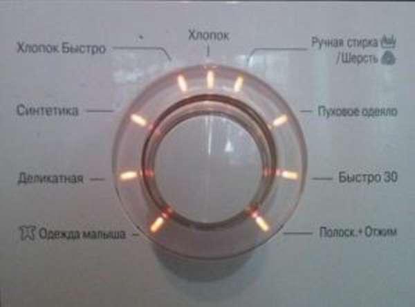 Режимы и время стирки в стиральной машине LG
