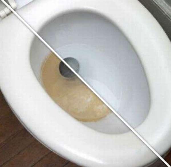 Лучшее средство для чистки унитаза от камня и ржавчины