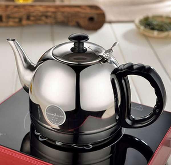 Выбор чайника для индукционной плиты