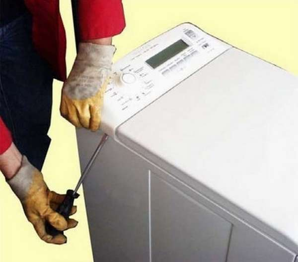 Разборка вертикальной стиральной машины Занусси