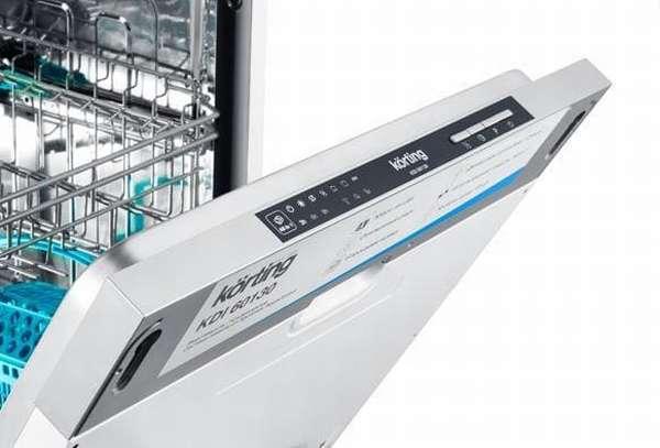 Ошибки посудомоечной машины Korting: