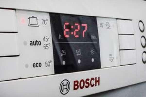 Ошибка Е27 в посудомоечной машине Bosch