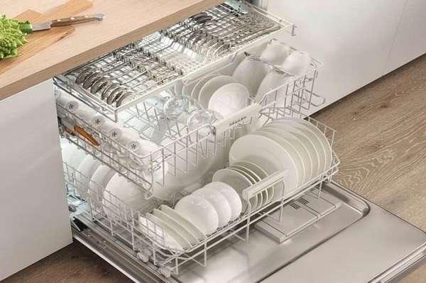 Посудомоечные машины Miele: основные характеристики