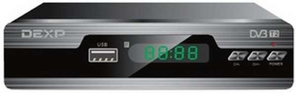 Ресивер для телевизора DEXP HD