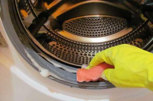 Как почистить резинку в стиральной машине автомат