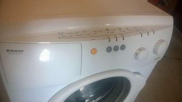 Режимы и время стирки в стиральной машине Hansa