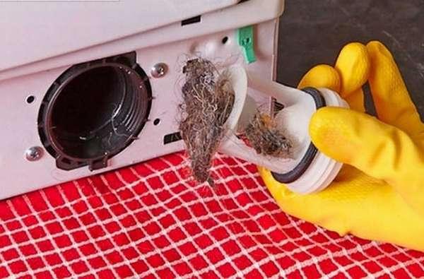 мусорный фильтр в стиральной машине Bosch