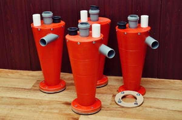 Циклонные фильтры - принцип работы