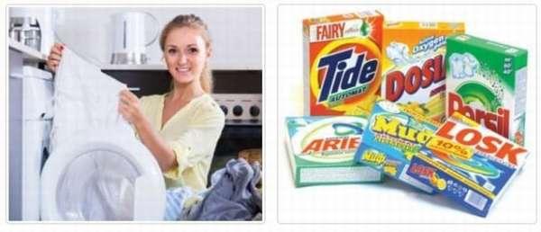 Стирка вещей из льна в стиральной машине и руками