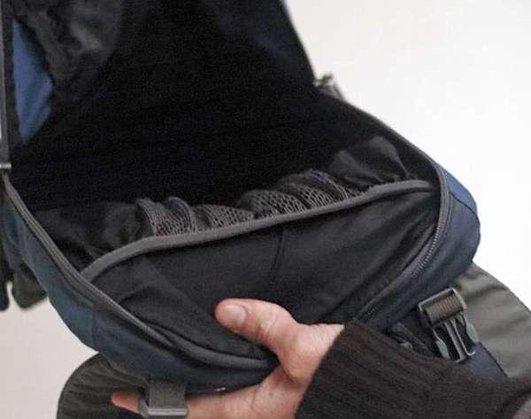 Полости рюкзака