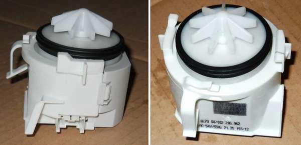 сливной насос в посудомоечной машине Bosch
