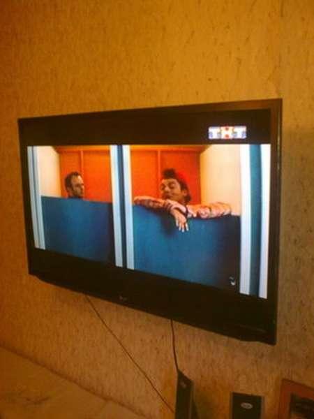 Способы монтажа телевизора на стену