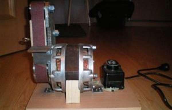 Самодельный гриндер с двигателем от стиральной машины