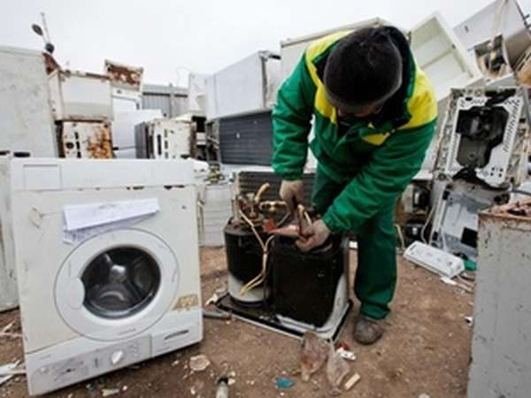 Утилизация стиральной машины