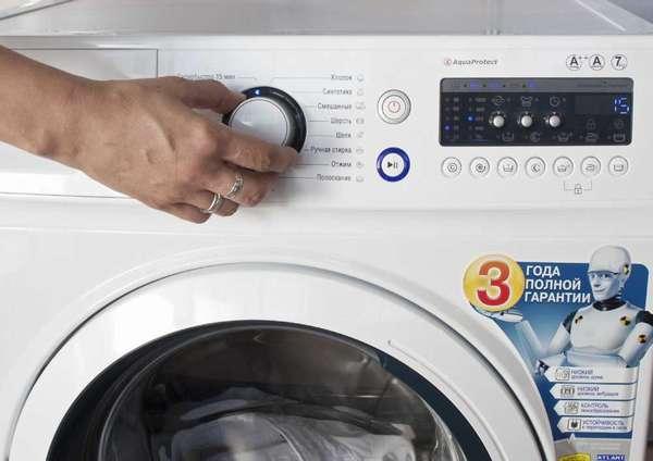 Автоматическое тестирование стиральной машины