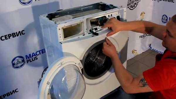 Как разобрать стиральную машину Самсунг