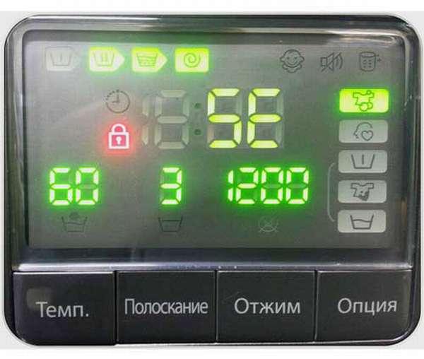 Ошибка 5E в стиральной машине Samsung