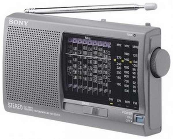 Радиоприемник Сони