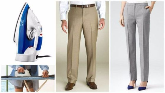 Стрелки на брюках