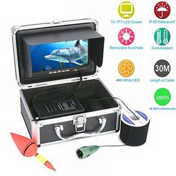 Использование подводной камеры для зимней рыбалки