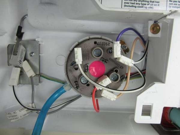 Замена датчика уровня воды стиральной машины
