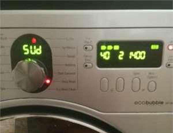 Ошибка SUD на стиральной машине Samsung
