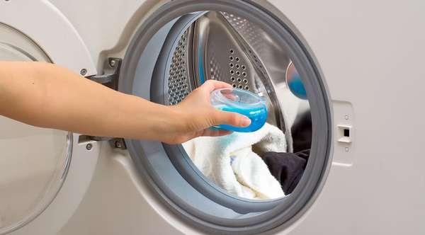 Куда заливать жидкий порошок в стиральной машине