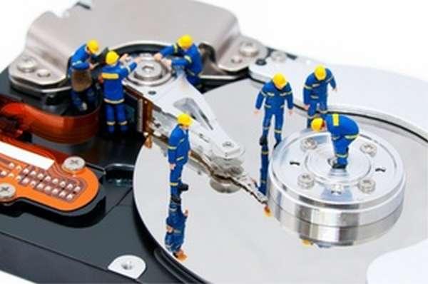 Жёсткий диск - как отформатировать методами виндовс?