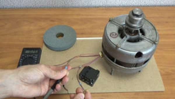 Подключаем двигатель от старой стиральной машины