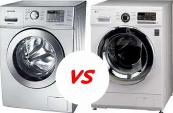 стиральная машина LG или Samsung что лучше