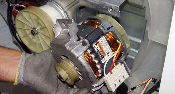 Электродвигатель стиральной машине LG