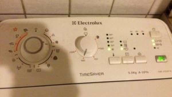 Что означают значки на стиральной машине Электролюкс