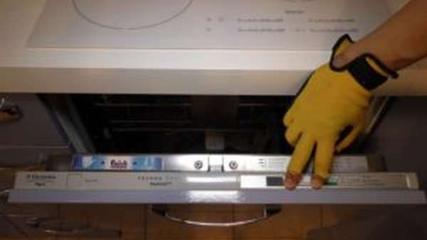 Ошибка i10 в посудомоечной машине Electrolux